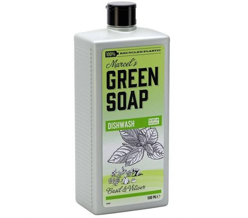 Green Soap Dishwash - Basilicium & Vetiver