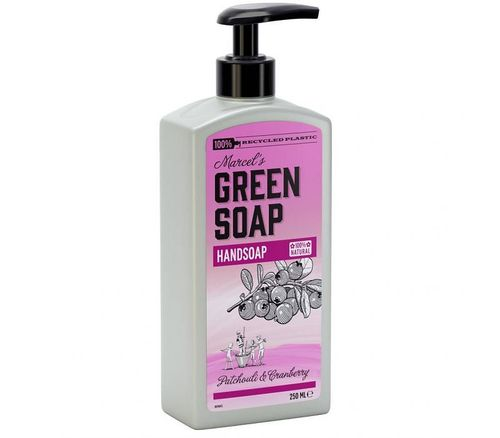 Green Soap Handzeep - Patchouli & Cranberry