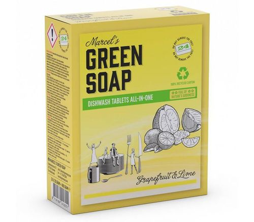 Green Soap Vaatwastabletten - Grapefruit & Limoen